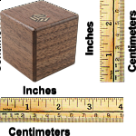 Karakuri Small Box #1 Walnut
