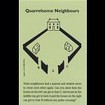 Quarrelsome Neighbours - Trade Card