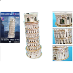 The Leaning Tower of Pisa - 3D Puzzle