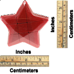 Star 3x3x3 Cube - Red Body