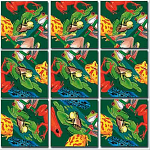 Scramble Squares - Frogs