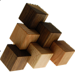 Three-piece Pyramid