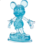 3D Crystal Puzzle - Mickey Mouse (Blue)