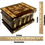 Romanian Puzzle Box - Large Brown