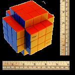 3x3x5 Cross-Cube with Fisher & Evgeniy logo Stickerless