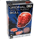 3D Crystal Puzzle - Skull (Red)