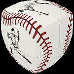 V-CUBE 2 Pillow (2x2x2): Baseball
