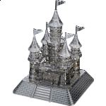 3D Crystal Puzzle Deluxe - Castle (Black)
