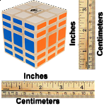 Full Function 3x3x5 Cube - Clear Body