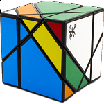 Tangram Cube - Black Body