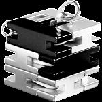 Mini Line Cube - Black