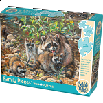 Racoon Family - Family Pieces Puzzle