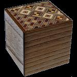 2 Sun Cube 4 Step Drawer Koyosegi / Natural