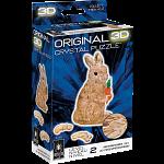 3D Crystal Puzzle - Rabbit