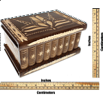 Romanian Puzzle Box - Extra Large Brown