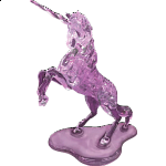 3D Crystal Puzzle Deluxe - Unicorn