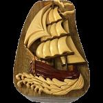 Tall Ship - 3D Puzzle Box