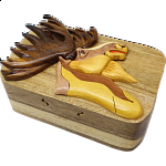 Moose Head - 3D Puzzle Box