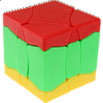 BaiNiaoChaoFeng Cube (Red-Green-Yellow) - Stickerless