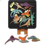 Carnivorous Dinosaurs - Wooden Packing Puzzle