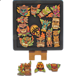 Masks - Wooden Packing Puzzle