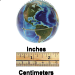 Earth 2x2x2 Cube