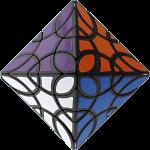 LanLan Clover Octahedron Cube - Black Body