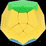 BaiNiaoChaoFeng Megaminx - Stickerless (green-yellow-blue)