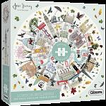 London Buildings - Circular Jigsaw Puzzle