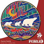 Aurora Family - Large Piece Round Shaped