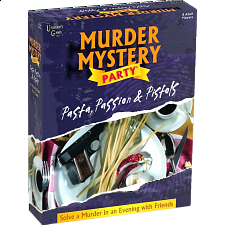 Murder Mystery Party - Pasta, Passion and Pistols -