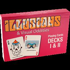 Optical Illusions & Visual Oddities Playing Cards - Decks I & II -