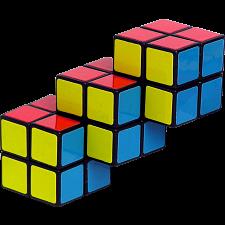 Triple 2x2 Cube -
