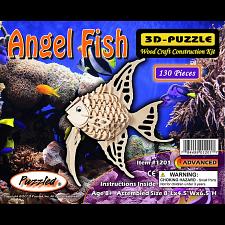 Angel Fish - 3D Wooden Puzzle -