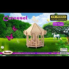 Carousel - 3D Wooden Puzzle -