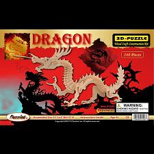 Dragon - Medium - 3D Wooden Puzzle -
