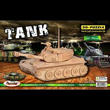 Tank - 3D Wooden Puzzle -
