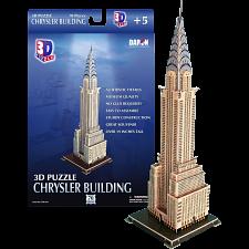Chrysler Building - 3D Jigsaw Puzzle -