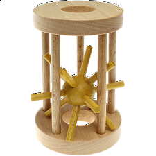 Hedgehog in a Cage: Yellow -