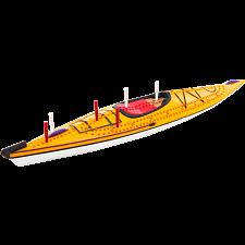 Cribbage Board - Kayak -
