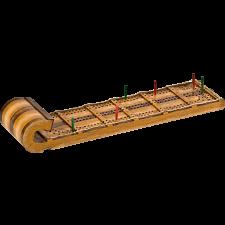 Cribbage Board - Toboggan -