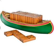Dominoes Double 6 - Canoe -