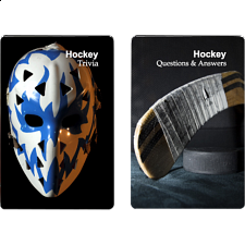 Playing Cards - Hockey Facts -