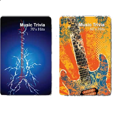 Playing Cards - Music : Hit Singles Trivia -