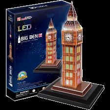 Big Ben - LED Lit - 3D Puzzle -