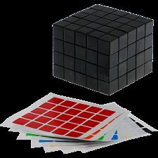 Fully Functional 5x5x4 Cube - Black Body - DIY -