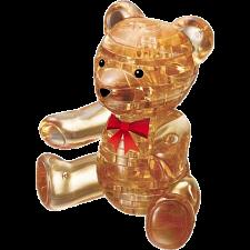 3D Crystal Puzzle - Teddy Bear (Brown) -