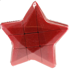Star 3x3x3 Cube - Red Body -