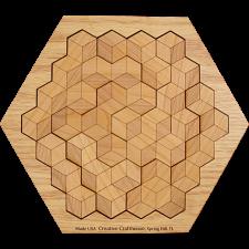 Hexagon 10 in solved base -