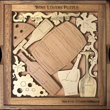 Wine Lover`s Puzzle -